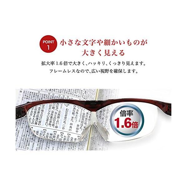 メガネ型拡大鏡 SMART EYE ハネアゲル...の紹介画像7