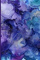 Purple Water color Cover Journal