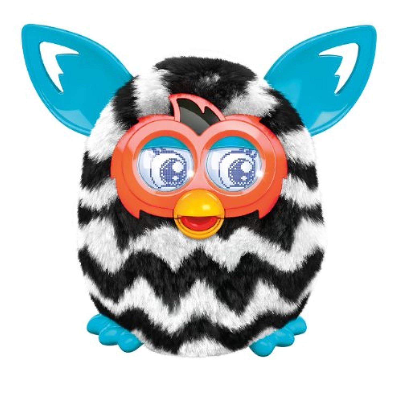 Furby ファービー Boom Figure (Zigzag Stripes) ぬいぐるみ(並行輸入品)