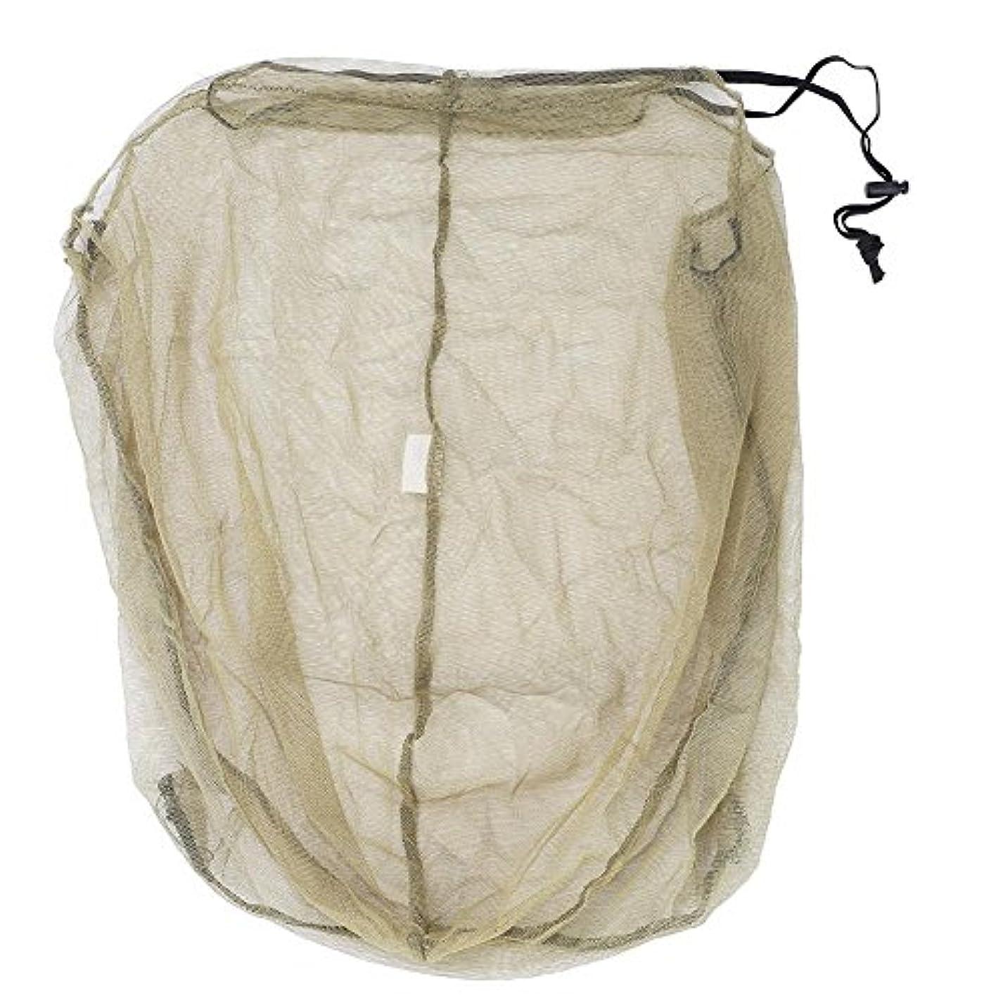 ぴかぴか追跡正直虫除けヘッドカバー 防虫ネット 蚊よけヘッドネット アウトドア キャンプ 釣り 登山 フリーサイズ