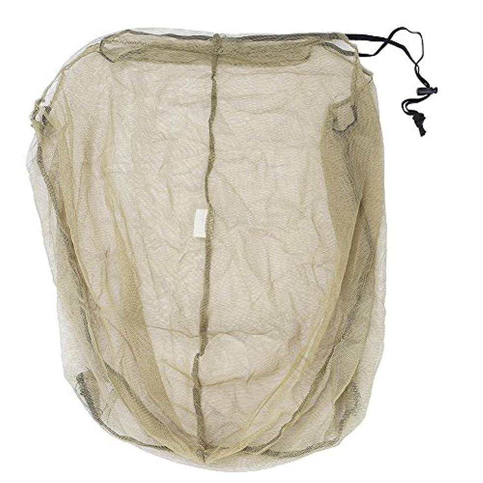 引き受ける宇宙漁師虫除けヘッドカバー 防虫ネット 蚊よけヘッドネット アウトドア キャンプ 釣り 登山 フリーサイズ