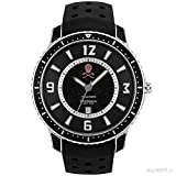 テンデンス(Tendence) 腕時計 マーク&ロナ スカル スリム MLTG152003 ブラック 【正規販売店】
