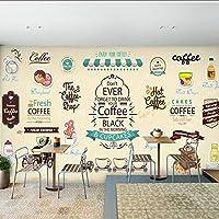 Xueshao 写真の壁紙3Dデザートピザスナック壁画スナックバーの背景壁コーヒー家茶屋キッチンレストラン壁紙壁画-250X175Cm