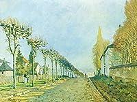 Lais Puzzle Alfred Sisley - Louveciennes近くのSèveresへの道 2000 部