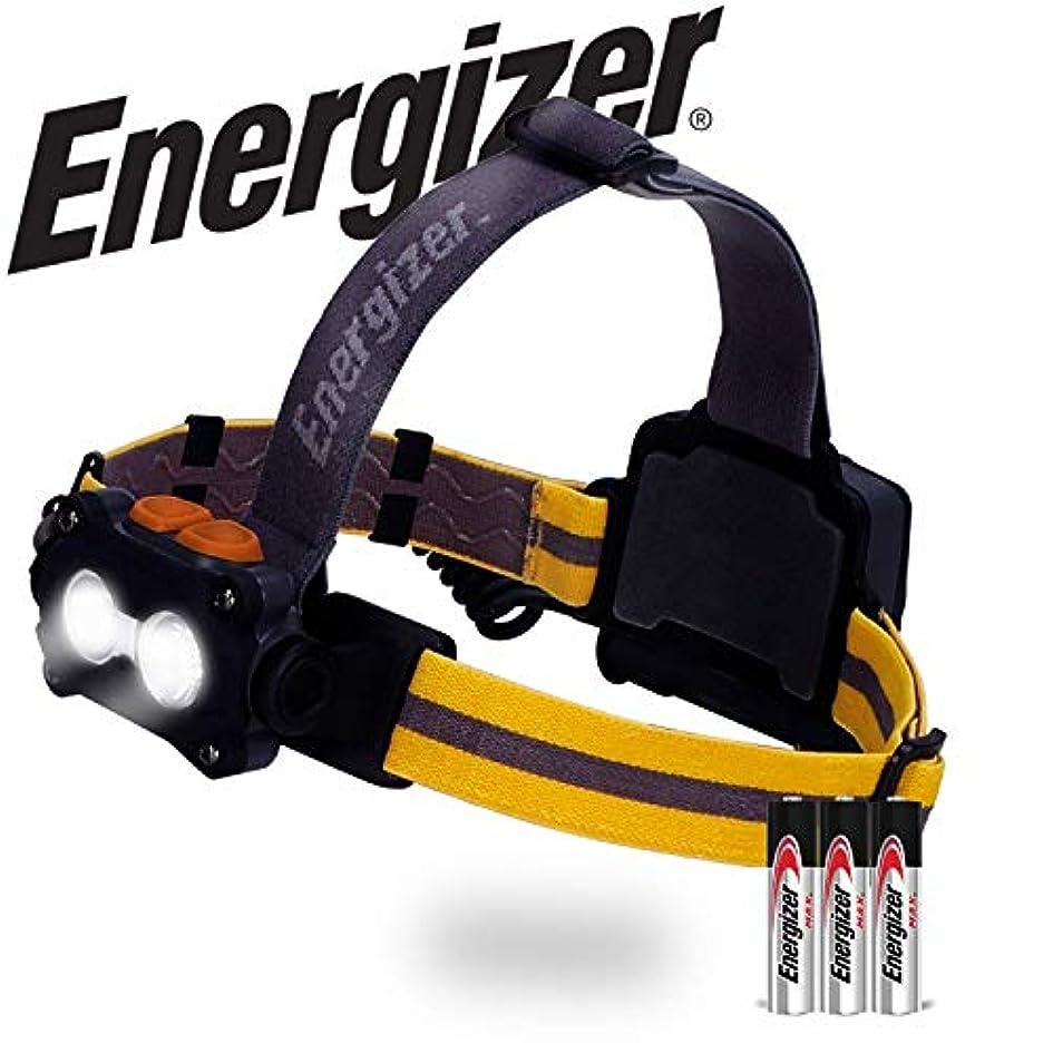 食用嫌悪聞きますエナジャイザー - ハードケースプロ4つのLEDヘッドライト、ブラック/グレー