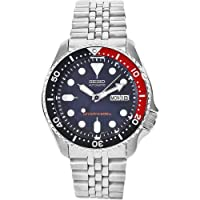 Seiko SKX009 K2 Automatic Blue & Red Men's Stainless Steel Analog Divers Watch
