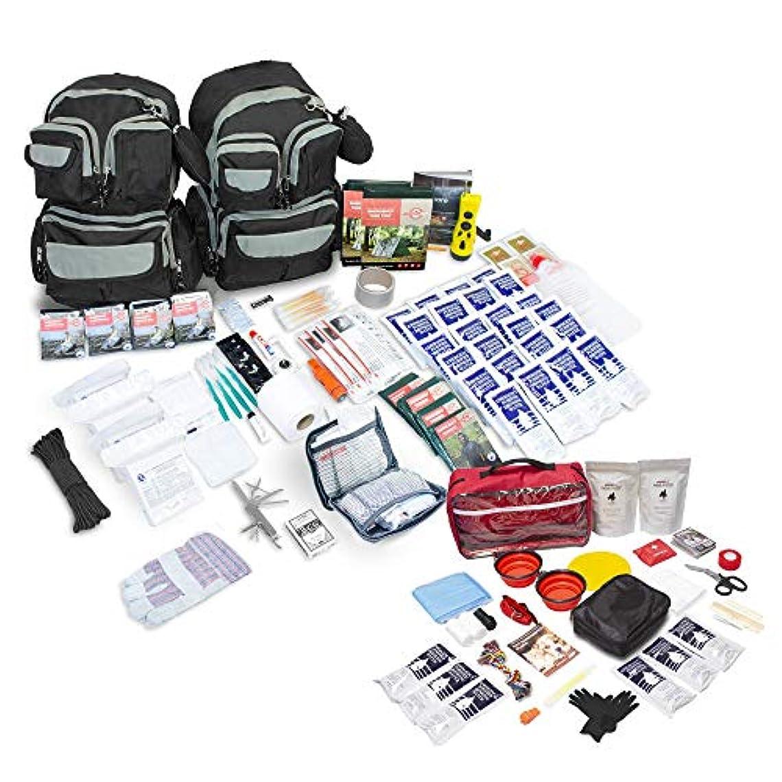 うまくやる()作成者スポーツの試合を担当している人Emergency Zone Urban Survival Bug Out/Go Bag 72-Hour Kit | Perfect Way to Prepare Your Family | Be Ready for Disasters Like Hurricanes, Earthquakes, More (4 Person with Dog Pet Emergency Kit Add on)… [並行輸入品]