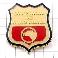 限定 レア ピンバッジ カリフォルニア州アメリカ/USA紋章イーグル鷲 ピンズ フランス