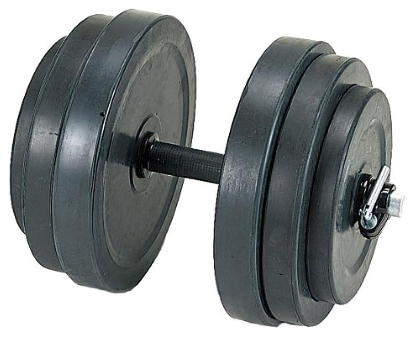 かどうか立方体権限を与えるダンノ(DANNO) ラバーベルST28 20kgセット D-5703