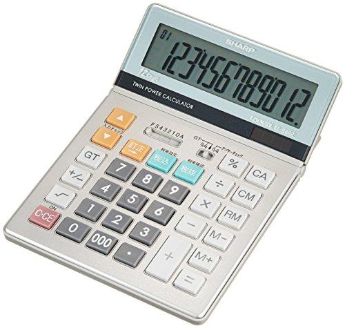 シャープ 実務電卓 セミデスクトップタイプ 12桁 EL-S882X