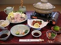【民宿大塚】民宿オヤジお薦め!!奥様楽々!!野菜も豆腐も入ったふぐ料理2人前