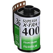 FUJIFILM カラーネガフイルム フジカラー SUPERIA X-TRA 400 36枚撮り 3本パック 135 SP400X-R 36EX 3SB