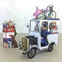 American Mail Man - 3D ポップアップカード Paper D'Art