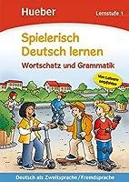 Spielerisch Deutsch lernen: Lernstufe 1 - Wortschatz und Grammatik by Christina Kuhn(2009-04-07)