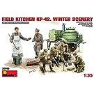 1/35 ソビエト フィールドキッチン KP-42 冬季ver