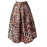 NEWISTARトラ柄プリント デザイン レディース 可愛い ファッション 個性的 おしゃれ スカート 大きいサイズ有り