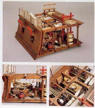 1061 輸入木製帆船模型 マンチュアモデル・パナルト740 HMSビクトリー(ガンデッキ)