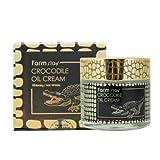 ファームステイ[韓国コスメFarm Stay]Crocodile Oil Cream ワニオイルクリーム70g しわ管理 美白[並行輸入品]