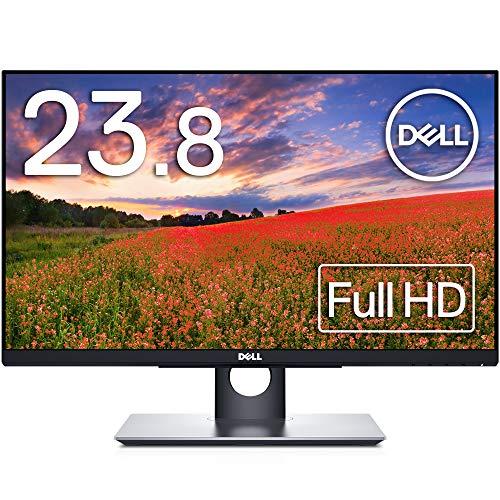 Dell モニター 23.8インチ タッチパネル/超広視野角&スリムベゼル/フルHD/フリッカーフリー/ブルーライト軽減/DP,HDMI,D-Sub/高さ調整/プレミアムパネル3年保証 P2418HT