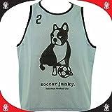 soccer junky(サッカージャンキー) チーム振り分け道着(ビブス)10枚セット サックス 49 F
