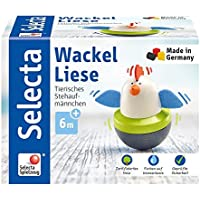 Selecta 61052 Baby Toys Wiggly Liese, マルチカラー インタラクティブおもちゃ