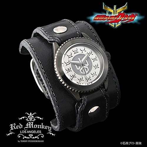 ■仮面ライダークウガ × red monkey designs Collaboration Wristwatch Silver925 High-End Model レッドモンキー 腕時計■
