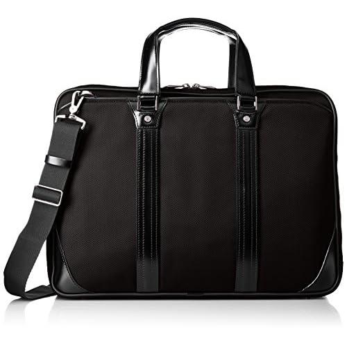 [ウルティマ トーキョー] ultima tokyo ビジネスバッグ 9L  B4サイズ収納可 チェスター 54734 テフロン加工 54734 01 (ブラック)