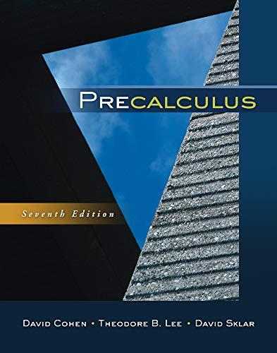 Download Precalculus 0840069421