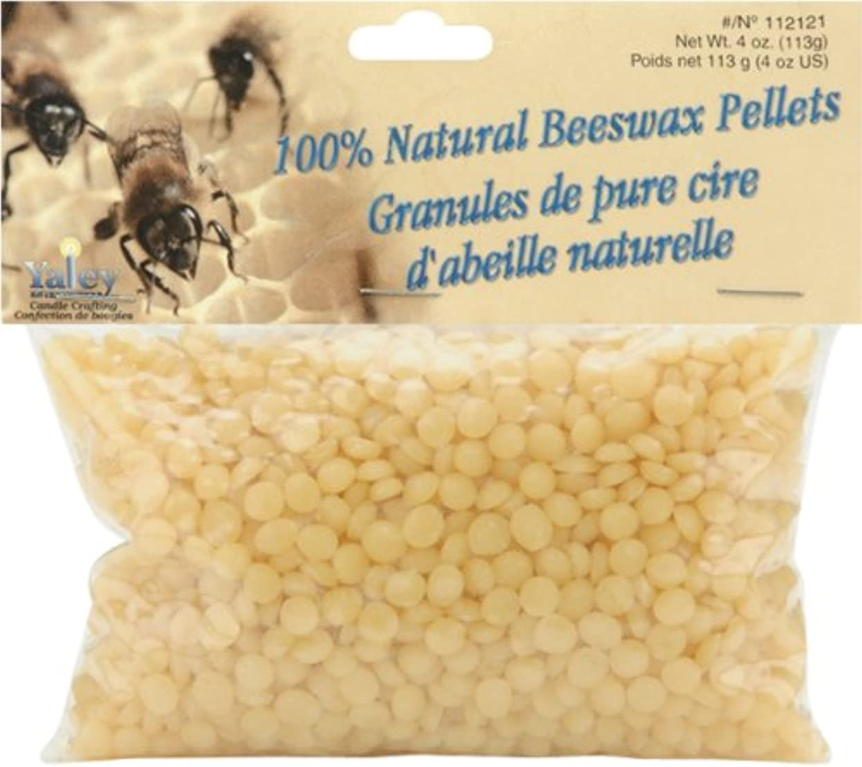 くるくるアナログ革命的Beeswax Pellets 4oz-Off-White (並行輸入品)