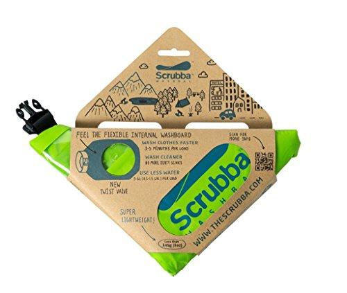 Scrubba Washbag スクラバ ウォッシュバッグ 携帯用洗濯袋 2017年モデル