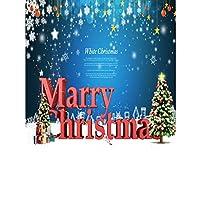 Demiawaking 5D 手作りダイヤモンド絵画セット・メリー・クリスマス ラインストーン 貼れる ホームの装飾