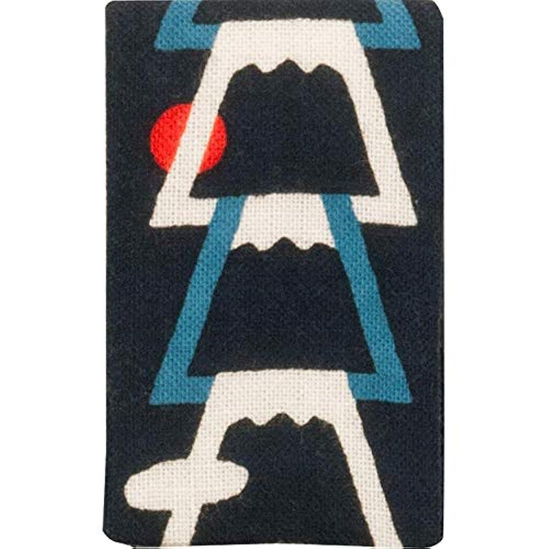 ボア筋高潔な濱文様 エチケットミラー 富士山ならべ コン