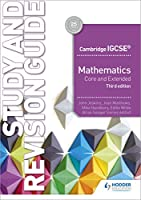 CamIGCSE Maths Core & Extended Study & Revision Guide 3rd edition (Cambridge Igcse)