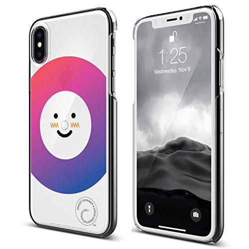 iPhone X ケース elago Smart Spinner [ iPhoneがスピナーに大変身 !? まるで ハンドスピナー !? ] おもしろ デザイン カバー [ iPhoneX ケース (10) 専用 ] ノエル