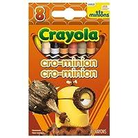 Crayola 8ctミニオンズcrayons- Crominion