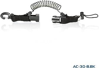 スナップコイル[スナッピーコイル]デジカメフック水中ライトホルダー AC-30-8