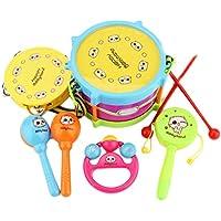 Happyハッピー耳 おもちゃ ギター 楽器おもちゃ 子供用 キッズ ギター玩具 誕生日 出産祝い 知育玩具 (セット)