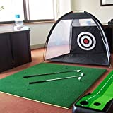 持ち運びできる ゴルフ 練習ネット 自宅用 簡単設置