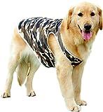 Banly Shop ペット用 犬用 タンクトップ  大型犬 中型犬用 シャツ 袖なし 散歩用 洋服 抜け毛対策 XS