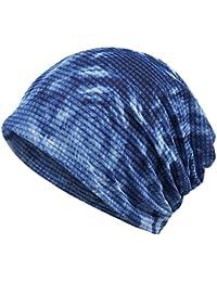DJHbuy ニット帽 メンズ レディース 無地 お出かけ 就寝用 抗がん剤 医療用帽子 ワッチキャップ 綿麻素材 伸縮性 四季用 男女兼用 4色