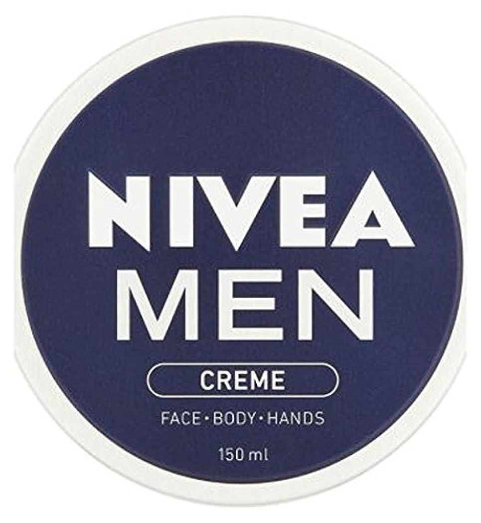 の前でどこにでも冷蔵するニベアの男性が150ミリリットルクリーム (Nivea) (x2) - NIVEA MEN Creme 150ml (Pack of 2) [並行輸入品]