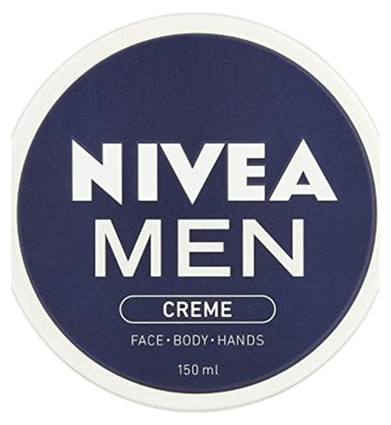 瞳治世現実にはニベアの男性が150ミリリットルクリーム (Nivea) (x2) - NIVEA MEN Creme 150ml (Pack of 2) [並行輸入品]
