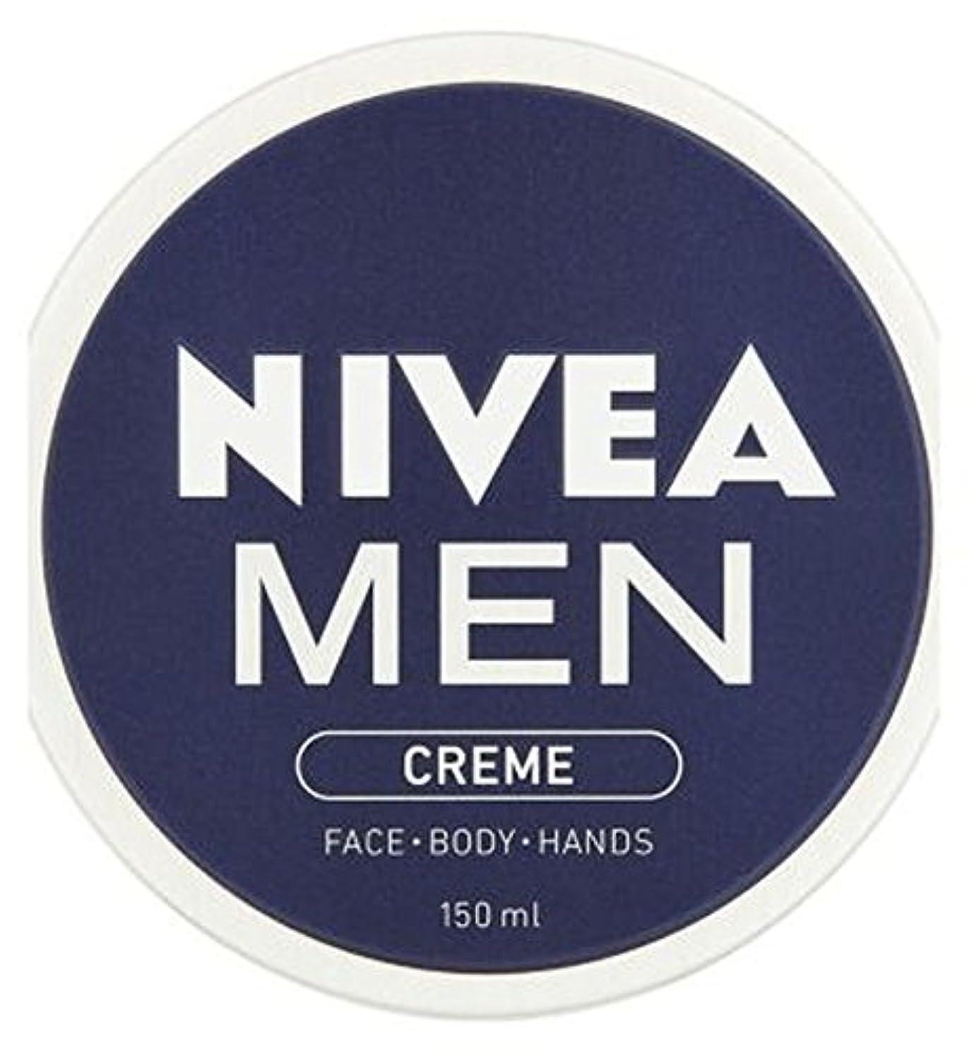 闘争広告装備するニベアの男性が150ミリリットルクリーム (Nivea) (x2) - NIVEA MEN Creme 150ml (Pack of 2) [並行輸入品]