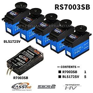 双葉電子工業 RS7003SB-BLS172SV/5 (レシーバー、サーボパック) 00106918