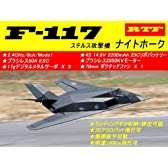 ラジコンジェット(JET)戦闘機★Lanxiang Model★70mm EDF JET★F-117ナイトホーク 2.4GHz/8ch/Mode1 RTFキット★時速100Km飛行★日本語送信機・アンプマニュアル付き
