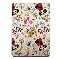 iPad mini4 スキンシール apple アップル アイパッド ミニ A1538 A1550 タブレット tablet シール ステッカー ケース 保護シール 背面 人気 単品 おしゃれ ラブリー アリス イラスト 006687