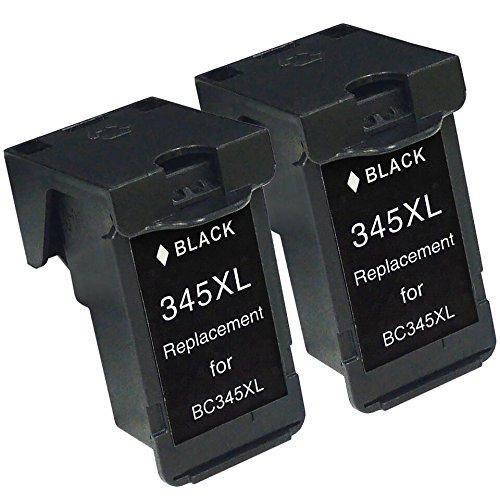【ブラック2本】 キャノン 用 BC-345XL 【 再生イ...