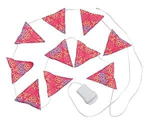 コールマン ライト ガーランドストリングライト フォリッジ/ピンク 2000022289