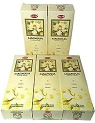 HEM マグノリア香 スティック 5BOX(30箱)/HEM MAGNOLIA/インド香 / 送料無料 [並行輸入品]