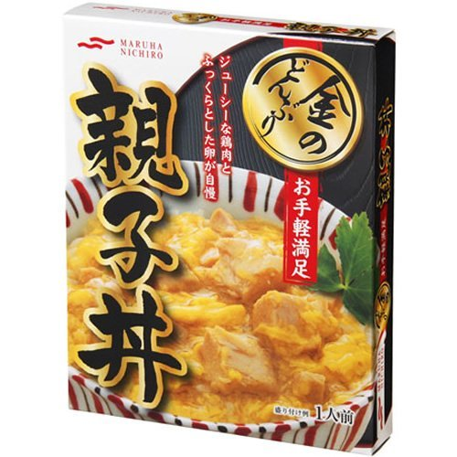 マルハ 金のどんぶりお手軽満足親子丼 210g×10箱